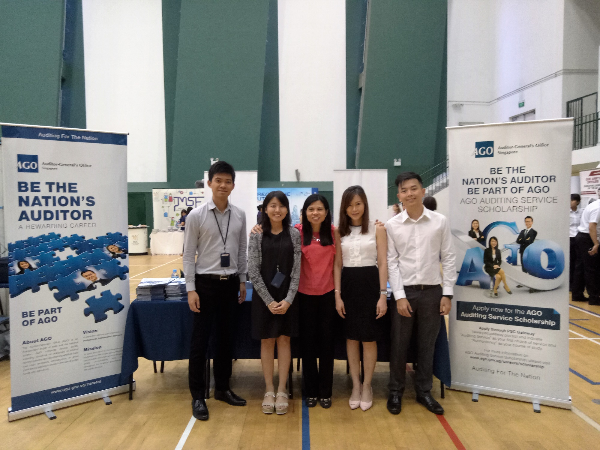 Participation in Raffles Institution Scholarship Day 2018