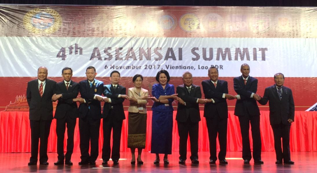 4th ASEANSAI Summit in Vientiane, Lao PDR