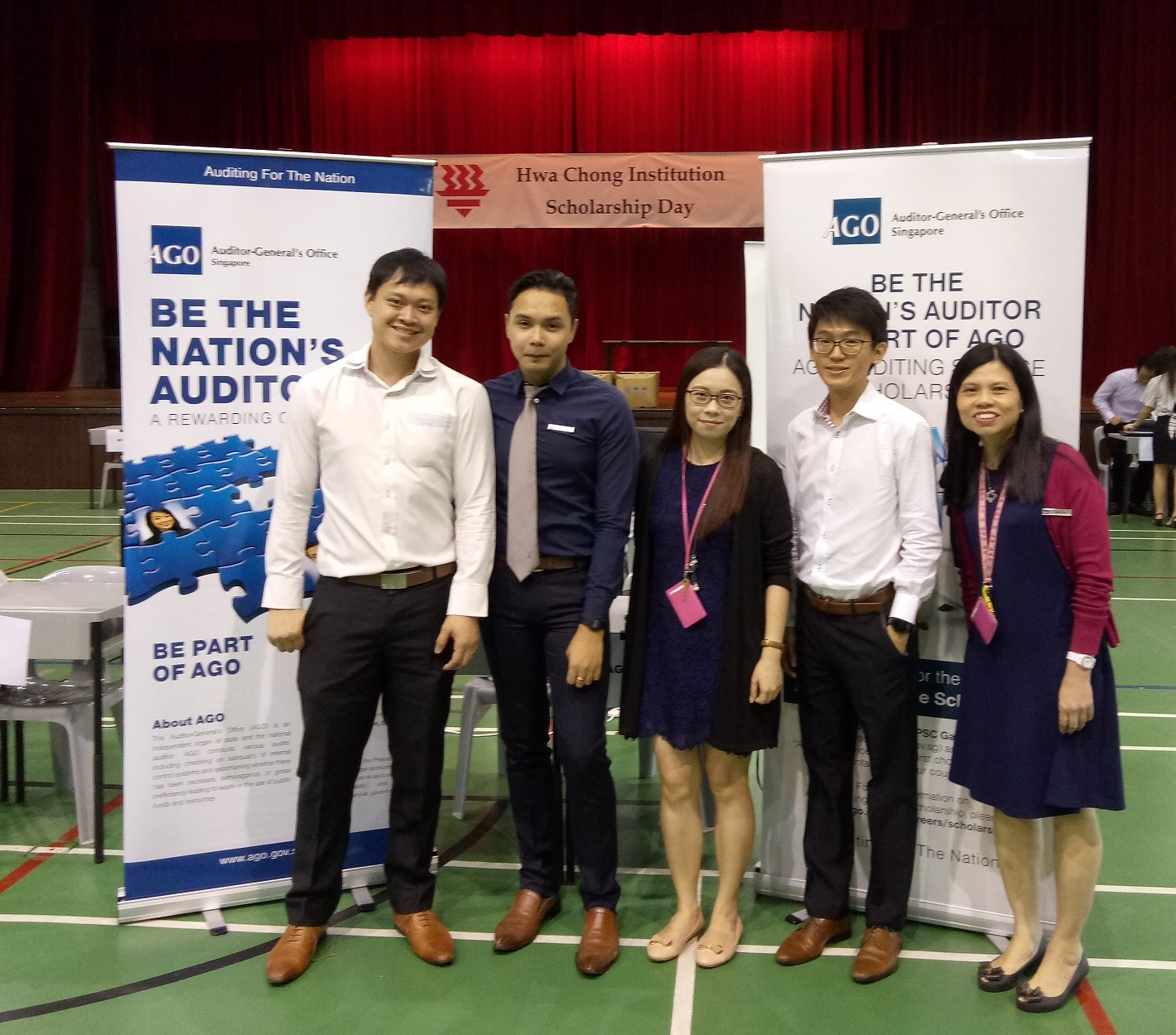 Participation in Hwa Chong Institution (HCI) Scholarship Day