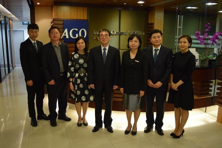 Visit by the Audit and Inspection Training Institute (AITI) of Korea